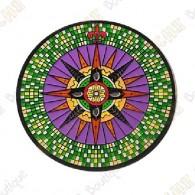 """Geocoin """"Compass Rose El Dorado"""" - Manoa"""