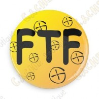 Badge FTF - Jaune