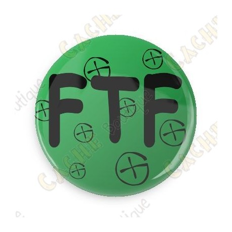Crachá FTF - Amarelo