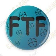 Crachá  FTF - Azul