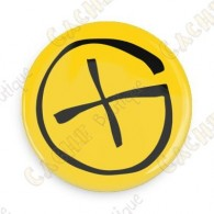 Badge Geocaching - Jaune
