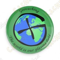 Badge Geocaching - World is our playing field