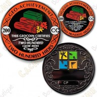 Geo Achievement® 200 Hides - Coin + Pin's