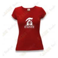 "Camiseta ""Until Death Do Us Part"" Mujeres - Rojo"