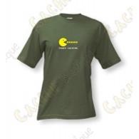 """Camiseta """"Power caching"""" Hombre - Caqui"""