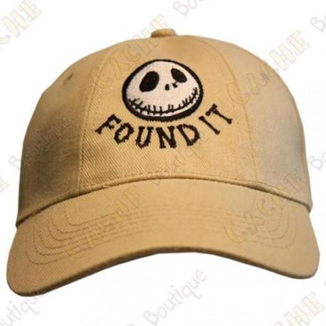 """Boné """"Found it"""" - Areia"""