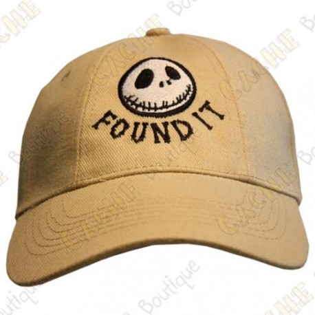 "Casquette ""Found it"" - Sable"