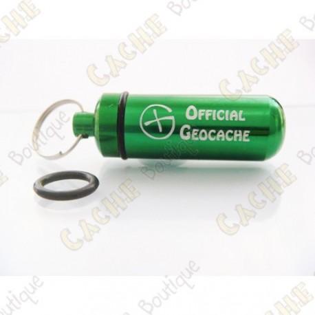 """Micro cache """"Official Geocache"""" - Verte"""