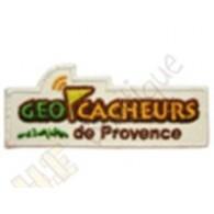 """Patch """"Géocacheurs de Provence"""""""