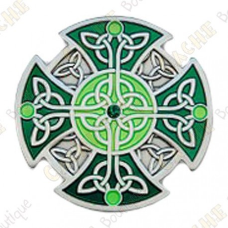 """Géocoin """"Croix celtique"""""""