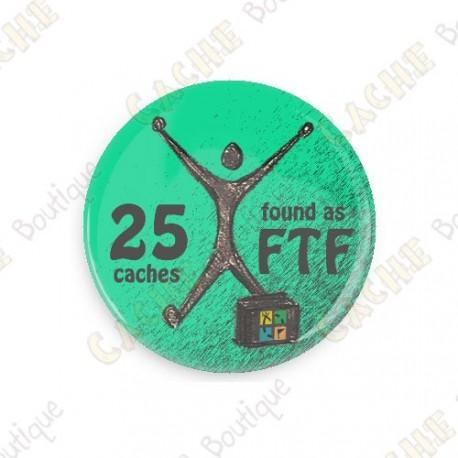 Geo Achievement Badge - 25 FTF