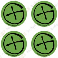 "Sticker Geo ""Round Small"" - Lot de 4"