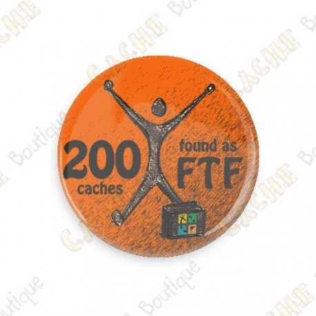Geo Achievement Badge - 200 FTF