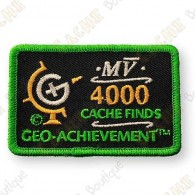 Geo Achievement® 4000 Finds - Parche