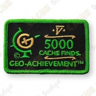 Geo Achievement® 5000 Finds - Parche