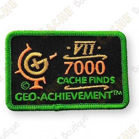 Geo Achievement® 7000 Finds - Patch