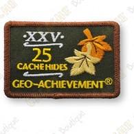 Geo Achievement® 25 Hides - Parche