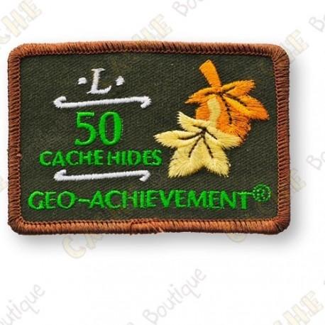 Geo Achievement® 50 Hides - Parche
