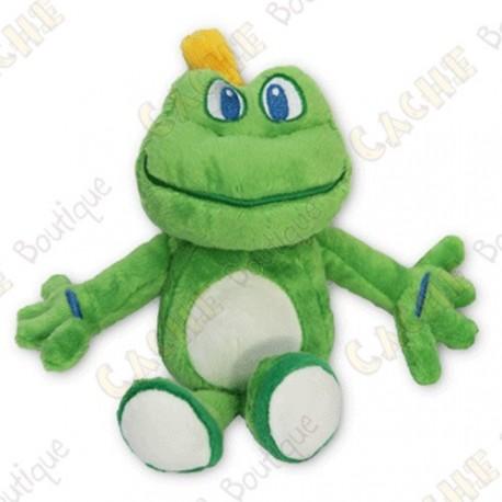 Peluche Signal the Frog avec ventouses