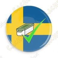 Geo Score Badge - Suède