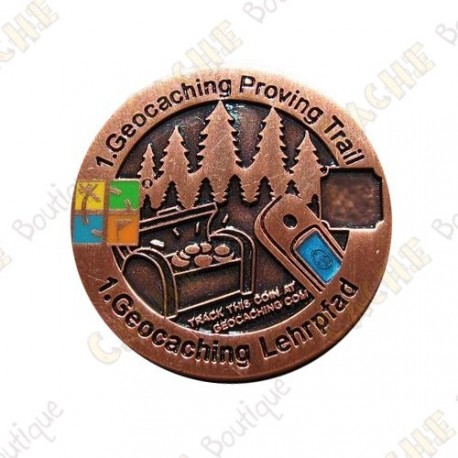 "Geocoin ""Proving Trail"""