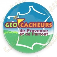 Badge Geocacheurs de Provence