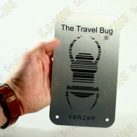Travel bug oficial Groundspeak versión XXL