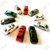 Carros pequenos - Conjunto de 10