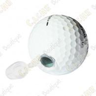 Esta pelota de golf pasará desapercibido para los muggles!