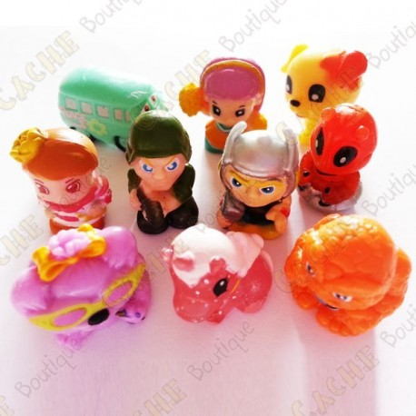 Petites figurines - Lot de 10