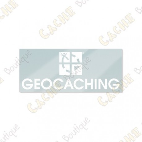 Sticker GEOCACHING interior para vehículo