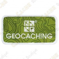 Patch géocaching avec logo Groundspeak.