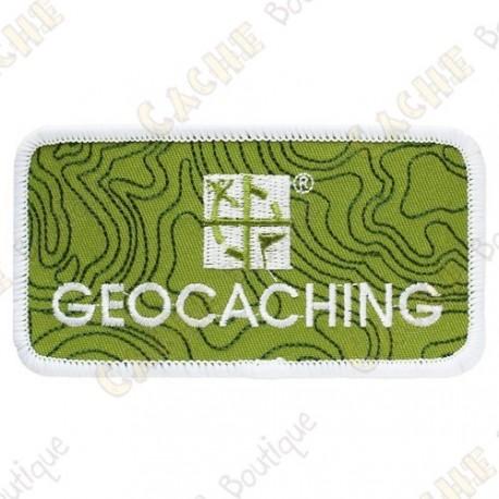 Parche Geocaching Groundspeak - Verde
