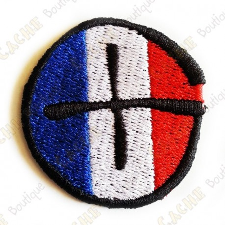 Patch geocaching rond - France