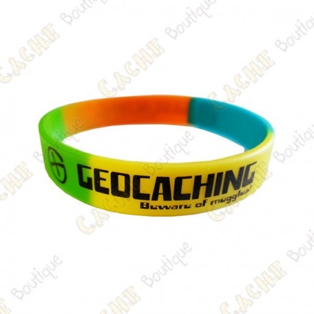 Pulsera de silicona Geocaching niños - Color