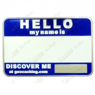 Name tag trackable - Bleu
