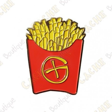 "Géocoin ""Fast Food"" -  Fench fries"