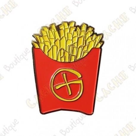 """Géocoin """"Fast Food"""" - Frites"""