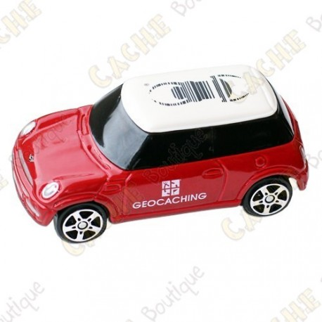 Mini Cooper trackable - Rouge