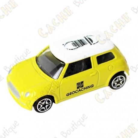 Mini Cooper trackable - Amarillo