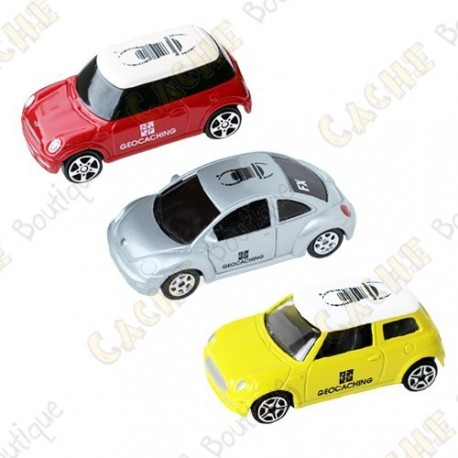Coches trackables - Lote de 3
