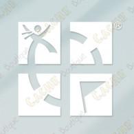 Sticker interior para vehículo - Estático