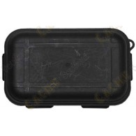 Caja impermeable negro con Kit de Supervivencia