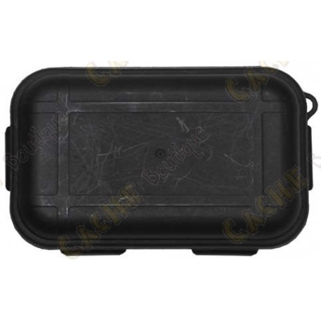 Preto caixa à prova d'água com Kit de Sobrevivência