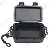 Negro caja impermeable - Medium