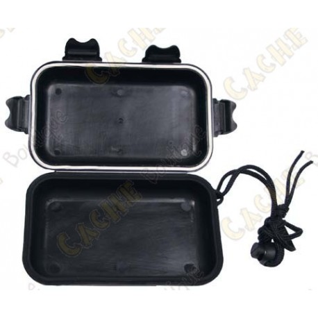 Negro caja impermeable - Small