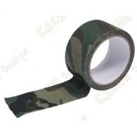 Adesivo de camuflagem (qualidade tecido) para camuflar as suas cache containers.