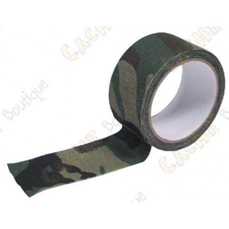 Adhésif camouflage large - Vert