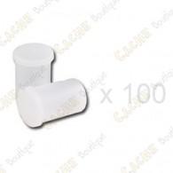 Mega-Pack - Film canister branco x 100