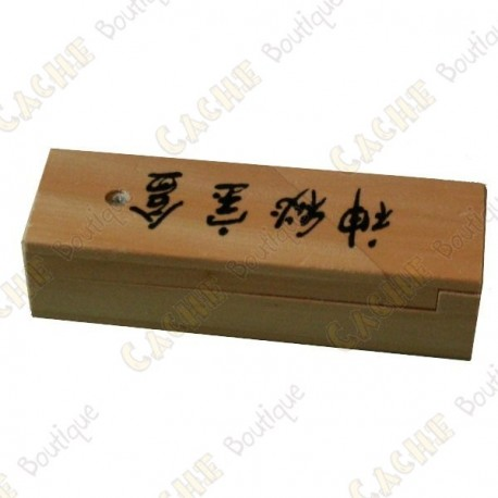 "Cache madera ""Caja secreta"""